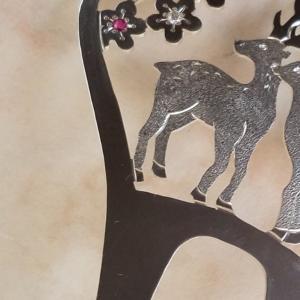 モンゴルで披露するかんざし☆京都の銀製かんざしアーティスト☆HANAE