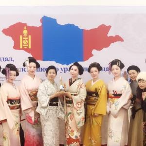 モンゴルへ【日本の美】を伝えてきました☆【家紋】はまったきっかけは?アトリエハナエかんざし