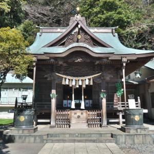 八幡橋八幡神社と根岸八幡神社