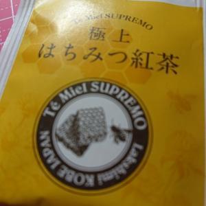 ウイルス対策にはちみつ紅茶(⌒∇⌒)