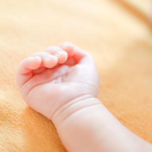 赤ちゃん、手の指と指の間が赤い!かぶれた!