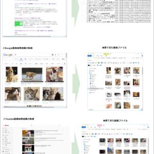 Webサイトからのデータ取得 ①Google系Webサービスのデータ取得(サイト検索・画像検索・Youtube検索)