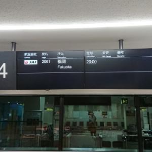 JAL/日本航空 クラスJ 搭乗レビュー JL2061便 大阪国際空港⇒福岡空港