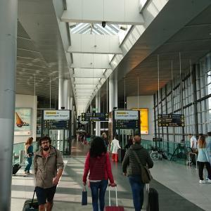 コペンハーゲン空港 スカンジナビア航空 SASラウンジ訪問記