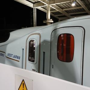 九州新幹線 つばめ303号 自由席 乗車記