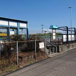 鹿児島空港から高速バスの鹿児島空港南バス停まで歩いてみた