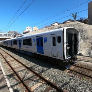 JR九州 BEC819系 DENCHA 乗車記 JR香椎駅⇒JR西戸崎