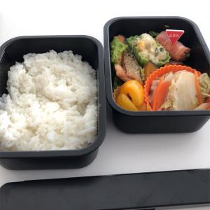 焼き鮭と蒸し煮