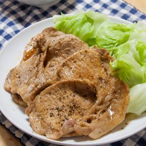 お肉が軟らかすぎて満足度が低めだった、豚の生姜焼き
