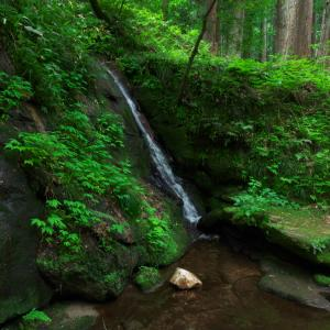 荒川剣龍峡!月岡温泉近くの滝が二つある綺麗な景勝地