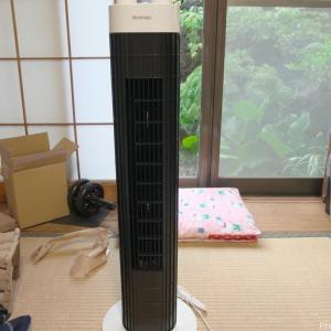 アイリスオーヤマのタワーファンTWF-M73を一夏使った僕の口コミ・感想!上下のルーバーがある方が便利
