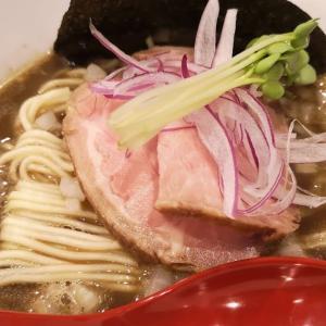 週末の我が家のお楽しみは絶品「 #煮干しソバ 」。勝田台「 #中華ソバ篤々 」で裏メニューの「 #烏賊煮干しソバ 」