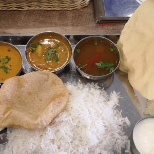 ランチのビリヤニメニュー全クリは足踏み状態。南インド料理「ナンディニ 虎ノ門店」で「ノンベジミールス」