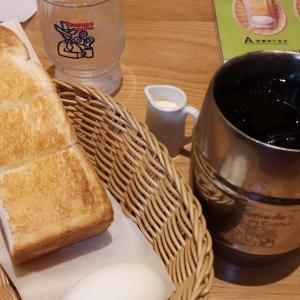 一周年記念でコーヒーチケットが500円引き。「 #コメダ珈琲店千葉佐倉王子台店 」で #モーニング