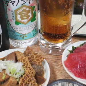 フライデーナイトの一人はしご酒。 #船橋 「 #増やま本店 」の #金宮ボトル でマイペースの仕上げ