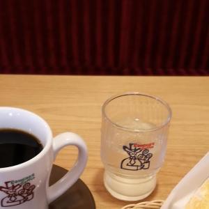 休日出勤の朝は #コメダ珈琲店 でウォーミングアップ。 #モーニング で初めての #小倉あんトースト