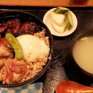 サービスの温玉トッピングに初挑戦。虎ノ門の人気店「鳥与志」でボリューム満点の美味「焼鳥丼」