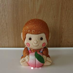 木目込み人形が売れた