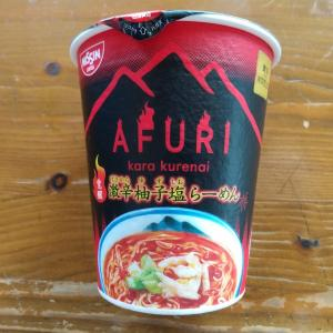 日清食品 東京NOODLES AFURI 覚醒 激辛柚子塩らーめん