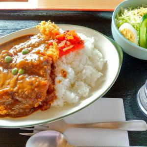 秋田県大館市 さいとうドライブインのチキンカツカレー
