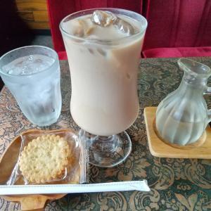 冷たいカフェオレどうぞ♪#飲み物 #ドリンク #コーヒー #カフェオレ #東北 #秋田県...