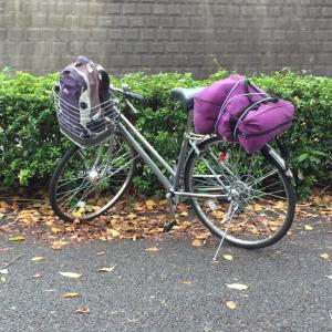 自転車テント旅行