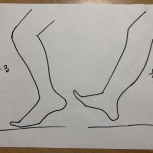 膝蹴り走法