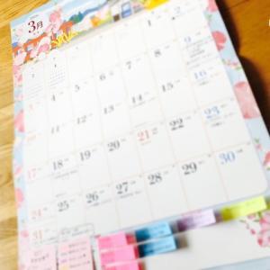 カレンダーでぷちバレットジャーナル♪