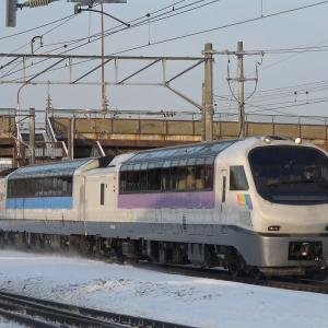 ノースレインボー代走『宗谷』とLNG貨物列車2074レ