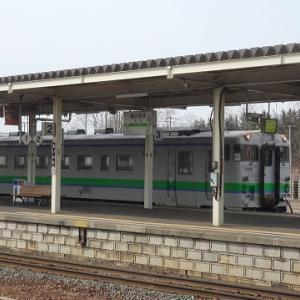 追分駅でキハ261系に変わった『おおぞら3号』等を撮影