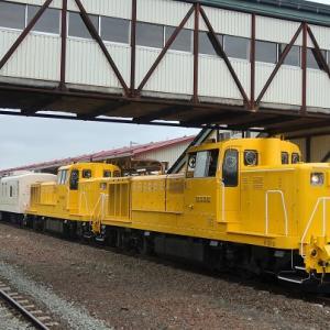 乗り鉄のラストは池田駅でロイヤルエクスプレス試運転を撮影