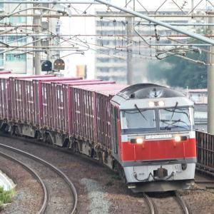 千歳線新札幌付近と函館本線厚別駅付近で鉄分補給