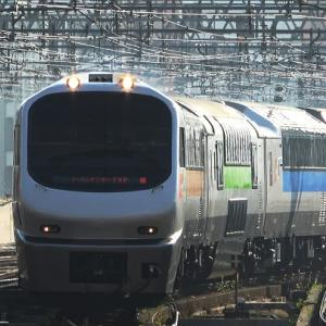 運転最終日のノースレインボー代走『ニセコ号』を札幌駅で撮影
