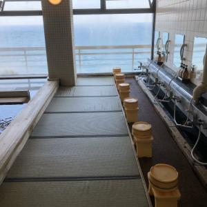 清海荘の畳の展望大浴場とお祭り一番館でランチ~平日代休のお楽しみ