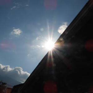 6月21日夏至の部分日食・観測地~大分県別府市