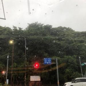 大雨注意。九州地方