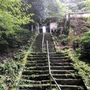 国東半島六郷満山文化にふれる~文殊仙寺・石の階段をのぼっていく
