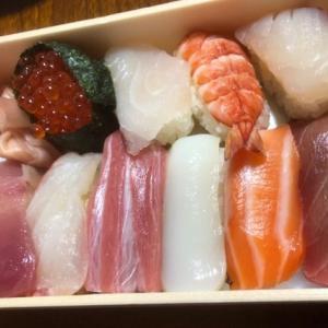 お寿司のお土産