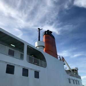 五島列島へ帰省~8月12日フェリーで佐世保港から有川港へ