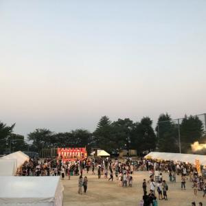 地元の夏祭り