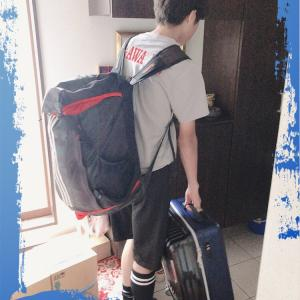 中学生最後の夏合宿へ〜息子の大切な経験〜