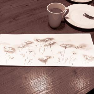 長居植物園 2話 コスモスを描く 水彩deサクッとスケッチLIVE 2019