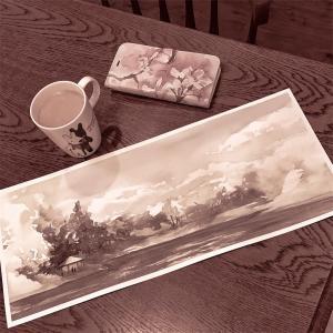 水彩de風景スケッチ 千里南公園 2020