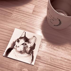 墨de猫を描く インクトーバ 2020