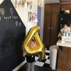 息子の誕生日会