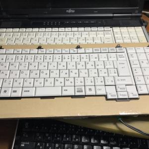 FMV E741/Cのキーボードを交換した