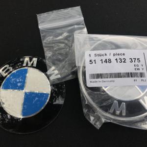 BMWエンブレムを非純正品に交換 見分けはつくか?