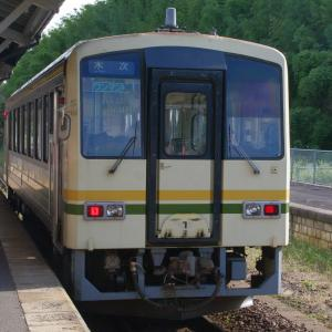 宍道駅にて