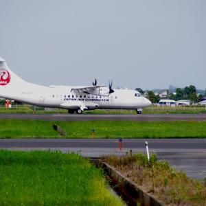 ATR-42 出雲空港就航 初日
