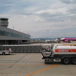 飛行機ウォッチングinSDJ(仙台空港)